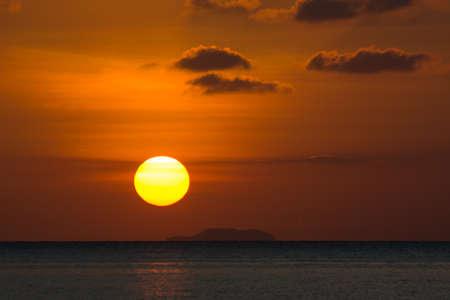 seascape: Sunset seascape view Stock Photo