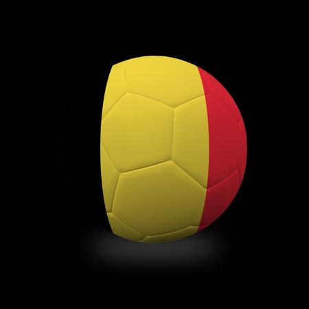 Football 2018, second round. Archivio Fotografico