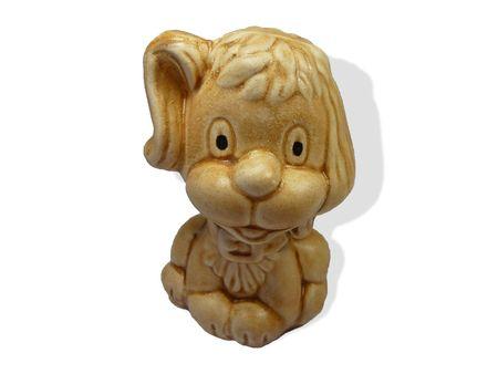 likable: Likable little ceramic dog