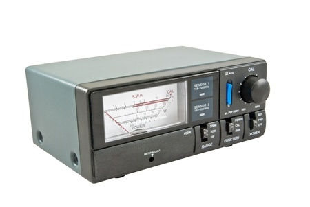 measuring device SWR& Power meter Stock Photo - 8469712