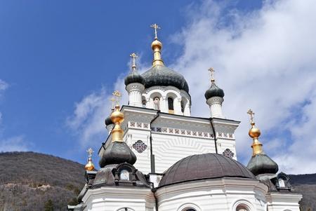 lacet: The Church of the Resurrection of Christ, Foros, Crimea, Ukraine.