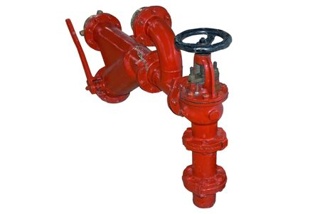 Hydrants fire fighting equipment industry  photo