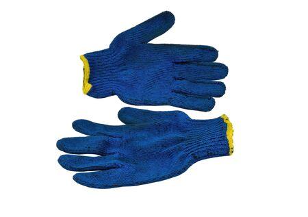 gauntlet gloves on white background Stock Photo - 12825384