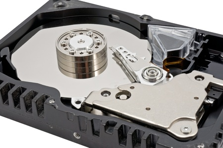 Hard disk drive HDD isolated on white background Stock Photo - 13511272