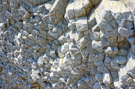 The close-up relief of the rocks  photo