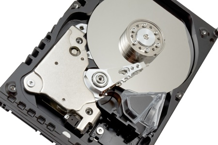 Hard disk drive HDD isolated on white background Stock Photo - 14215520