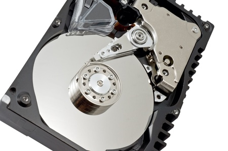 Hard disk drive HDD isolated on white background Stock Photo - 14248559