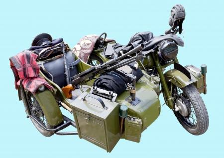 OLD MILITARY MOTOR BIKE