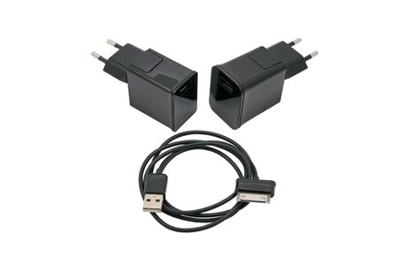 Charger for usb devices with usb-cable photo