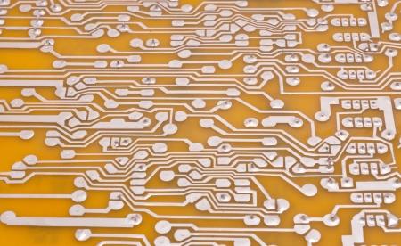 circuit board macro background photo