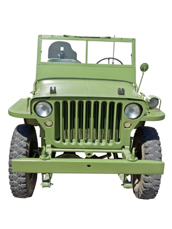 world war 2 era US army jeep