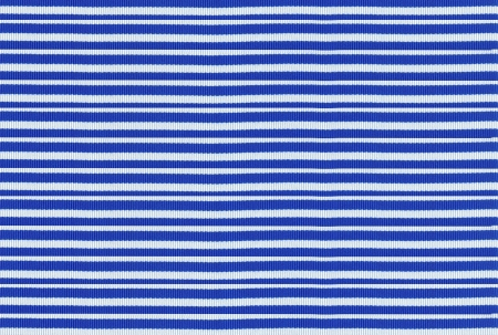 White and blue striped fabric texture photo