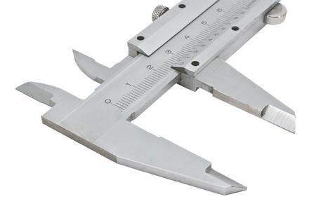 vernier caliper: Vernier caliper isolated on white background Stock Photo