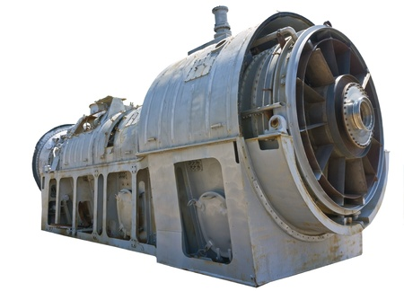 turbofan: Cierre de la imagen de la parte frontal de un motor de avi�n de combate