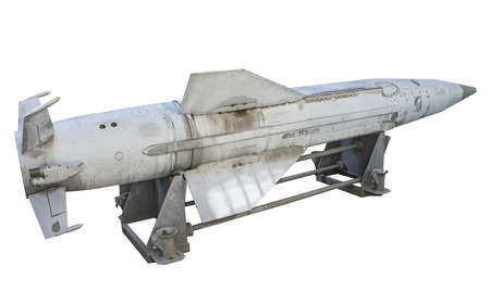 博物館でロシアのミサイル