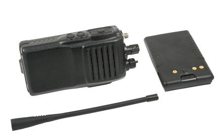 cb phone: UHF handsets on white