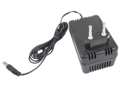 zelektryzować: ACDC adapter  on white background.