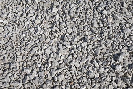 砕石砂利テクスチャ 写真素材