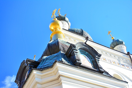 The Church of the Resurrection of Christ (Church On The Rock), Foros, Crimea, Ukraine.
