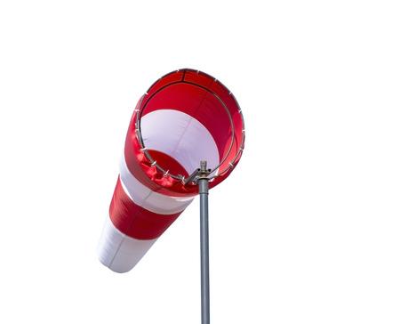 sleeve: wind sleeve flying on white background