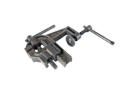 vise: Vise tool isolated on white background