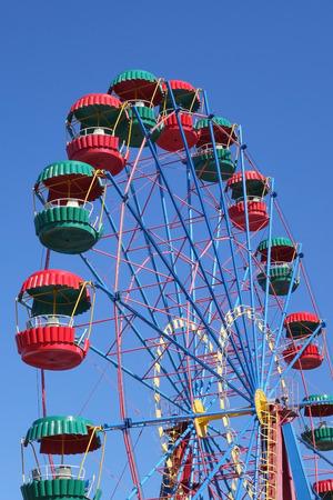 Ferris wheel in the summer morning Standard-Bild