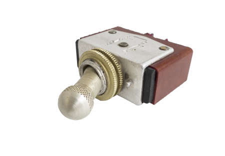 toggle switch: toggle switch isolated on white background