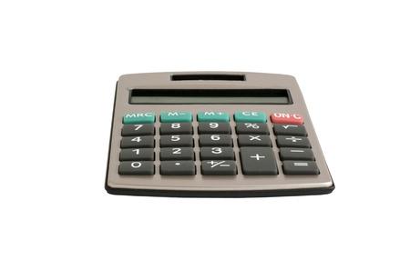 autonomous: A calculator with an autonomous power supply from the solar battery Stock Photo