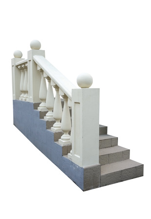 Flight Of Stair Steps Outside A Building photo