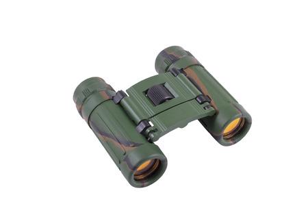 clarified: Binocular with the clarified optics, isolated image Stock Photo