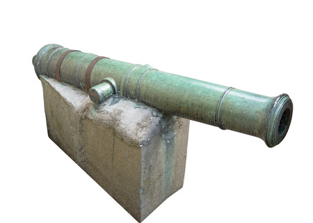 deck cannon: old English cannon. 19 century