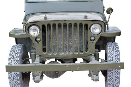world war 2: world war 2 era US army jeep Stock Photo