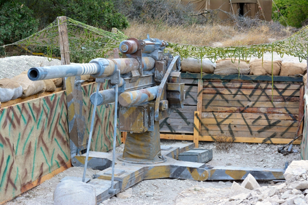 vehement: The model of German cannon of period of the second world war