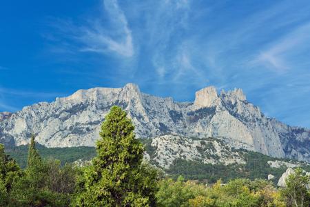 crimean: The Crimean mountains and sky
