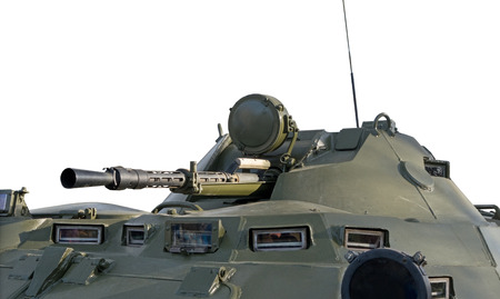 industrially: The BTR-80 is an Russian 8x8 wheeled amphibious armoured personnel carrier
