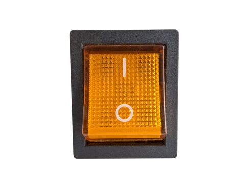component: electronic component. Switch on white background