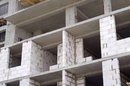 multifamily: Big multifamily housing under construction