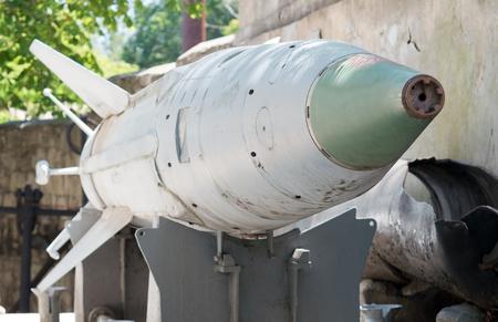 Russischen Raketen in einem Museum Standard-Bild - 63687594