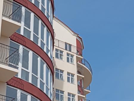 luxury apartment: Modern, new executive apartment building