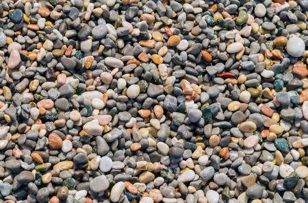 Small rocky cover the sea coast. Texture, background Stok Fotoğraf - 80868872