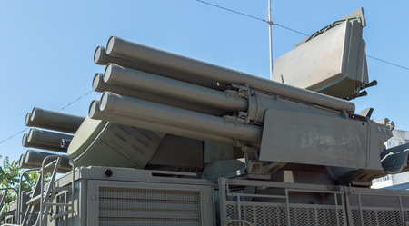 combined: Pantsir-S1 (SA-22 Greyhound) missile and anti-aircraft weapon system