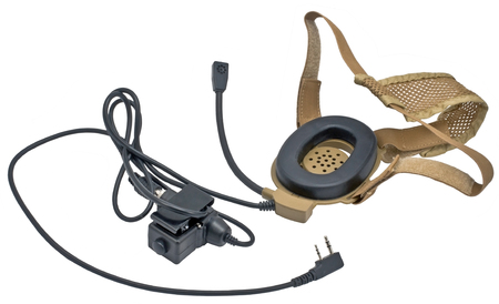 isolated portable radio transmitter on a white background