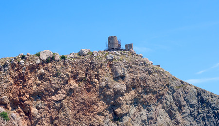 Chembalos ruins - fortress in the territory of Balaklava