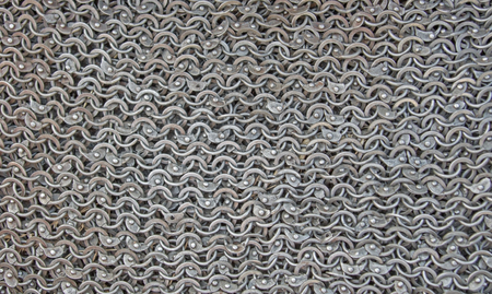 material of hauberk as a background