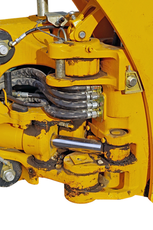 new powerful Excavator pressure pipes system