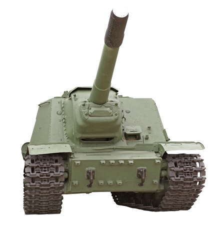 Soviet tank of period of the second world war