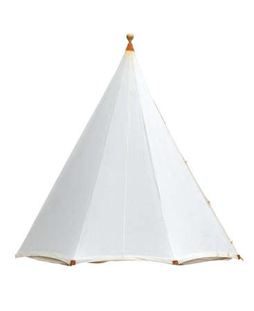 tent isolated on white background Фото со стока