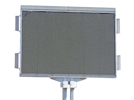 LED Screen for an Outdoor Event on white background