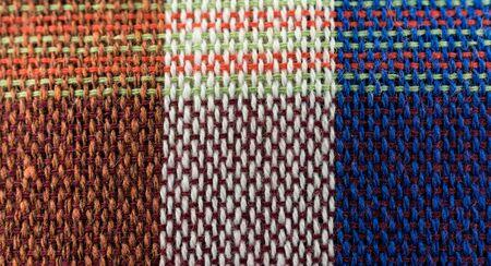Closeup texture of Fabric, Thai style loincloth