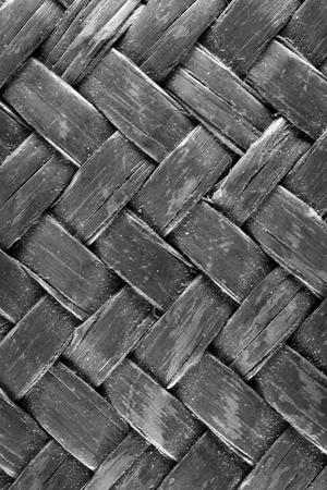 wicker bar: handcraft weave texture natural wicker design strong art